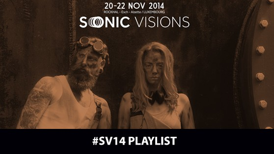 Sonic Visions 14 PLAYLIST!