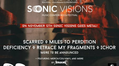 SONIC VISIONS GOES METAL