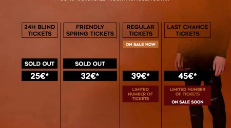FRIENDLY SPRING TICKETS ARE SOLD OUT!