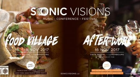 Afterwork & Food Village To Complete Sonic Visions