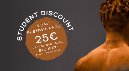 Student Discount For Sonic Visions Festival!